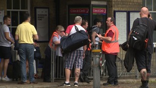 Delays for rail and air passengers following record breaking temperatures in the east