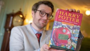 Rare Harry Potter book bought for £1 fetches £28,500 at auction