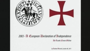 Anders Breivik published a manifesto for right-wing extremist group 'Knight's Templar'