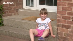 4-year-old Grace Thompson