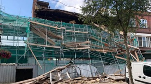 Emergency services called in after building collapses