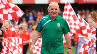 Cliftonville shocked by sudden death of Tommy Breslin