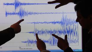 'Sonic boom' as small earthquake shakes Cornwall