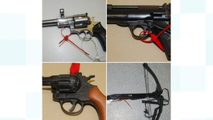 Over 130 weapons handed in as part of surrender campaign
