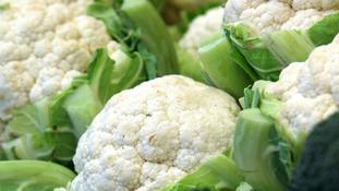 Cauliflower shortage as 'unprecedented' rain takes toll on brassicas