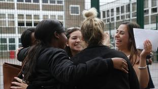 Students across England, Wales and Northern Ireland will today receive their A-level results