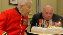 Born just after the First World War, veterans turn 100 together