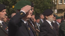 Sunderland veterans and families attend Operation Banner service