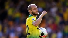Norwich's Teemu Pukki scores hat trick in home Premier League debut