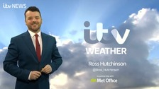 Ross Hutchinson has the latest weather forecast