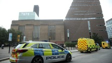 Extent of injuries to child who fell from Tate Modern still unknown, parents say
