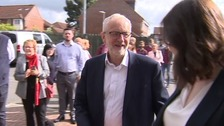 Jeremy Corbyn uses speech in Corby to set out his vision for the future