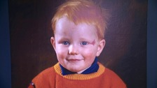 A young Ed Sheeran