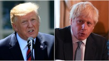 Trump hails 'great discussion' with Johnson on post-Brexit deal