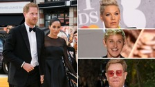 Pop star Pink, chatshow host Ellen DeGeneres and singer Sir Elton John have become the latest celebrities to defend the Duke and Duchess.