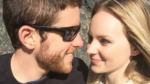 Pc Andrew Harper, pictured with his wife Lissie, died in an incident in Berkshire on August 15.