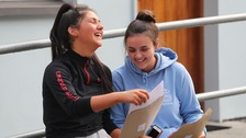 Students in Cumbria open their GCSE results