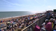 Clacton airshow attracts big crowds in the summer sun