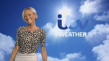 Wales Weather: Warm sunshine for some!