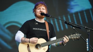 Suffolk newspaper becomes Ed Sheeran Daily Times in tribute to local superstar