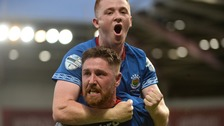 Linfield won the first leg.