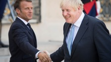 Boris Johnson has already met with Emmanuel Macron earlier this week.