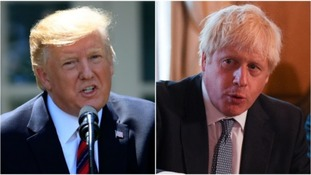 Donald Trump spoke to Boris Johnson about a post-Brexit deal earlier this week.