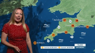 UK Weather forecast: A sunny and hot bank holiday for the South West