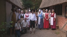 Spirit of the South: The living history village ... Little Woodham in Gosport