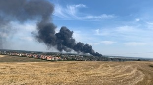 Investigation to begin after Cambridgeshire factory fire