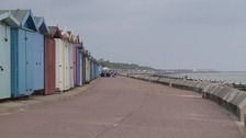 The seafront at Frinton.