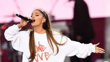 Ariana 'overwhelmed' as she performs in Manchester again