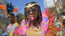 One million people are expected to enjoy the carnival over the course of the Bank Holiday weekend.