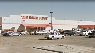 Texas police report two gunmen at large after shooting at home improvement store