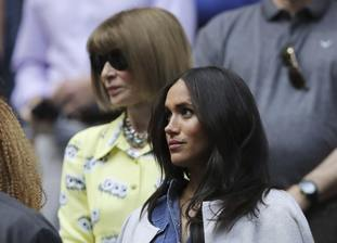 Vogue editor Anna Wintour sat near Meghan