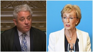 Andrea Leadsom stepped up her feud with John Bercow.