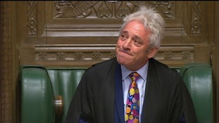 John Bercow made an impassioned speech to the Commons, announcing that he will stand down.