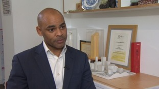 Mayor of Bristol Marvin Rees.