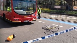 The crash on Kennington Park Road