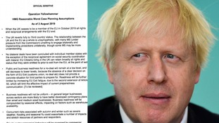 MPs are urging Boris Johnson to recall Parliament in the wake of the Operation Yellowhammer documents release.