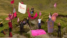 Climate campaigners take to the Lakeland hills