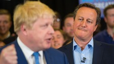 Cameron claims Johnson backed Leave to 'help his own political career'