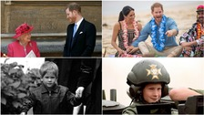 In Pictures: 35 photos to mark Prince Harry's 35th birthday