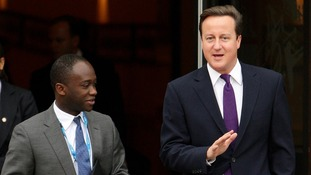 Mr Gyimah was a former aide to Prime Minister David Cameron.