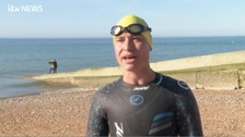 Transgender athlete praises Brighton and Hove triathlon's inclusiveness