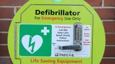 Defibrilator at Charing Cross Co-op to be relocated