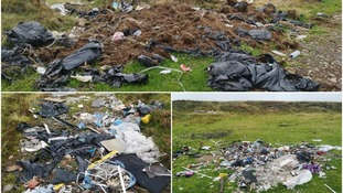 Fly-tipping found at Brecon beauty spot