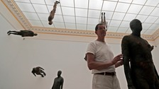 Antony Gormley pushes art boundaries with new exhibition