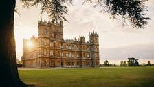 Highclere Castle in Hampshire, the home of Downton Abbey.