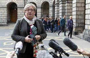 Joanna Cherry, the lead claimant in the proceedings brought in Scotland